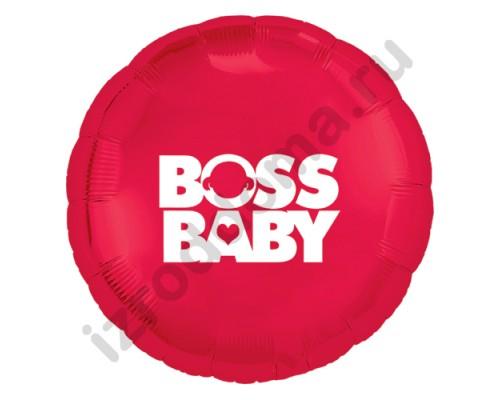 Воздушный шар Baby Boss для новорожденной девочки
