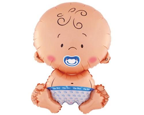 """Фольгированный шар с гелием """"Малыш мальчик"""" 71 см"""